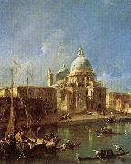 Francesco Guardi Santa Maria della Salute china oil painting reproduction